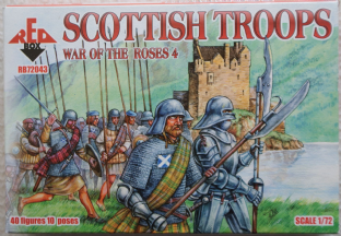 Red Box 1/72 RB72043 Scottish Troops (War of the Roses)